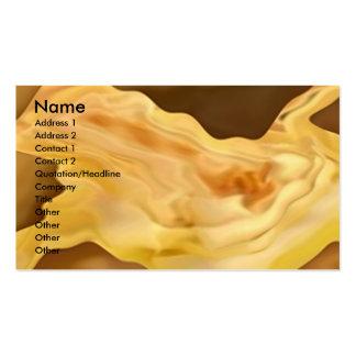 Golden Rose Petal Business Cards