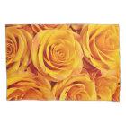 Golden Roses Pillowcase
