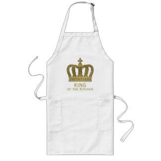 Golden Royal Crown II + your backgr. & ideas Long Apron