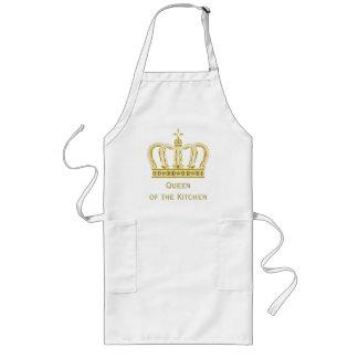 Golden Royal Crown + your backgr. & ideas Long Apron