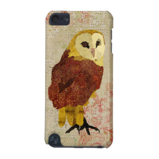 Golden Ruby Owl iPod Case iPod Touch (5th Generation) Covers
