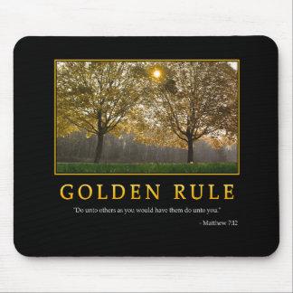 Golden Rule Mousepad