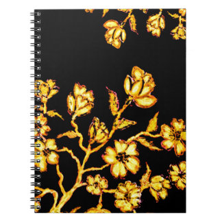 Golden Sakura Art 2 Notebook