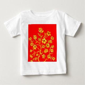 Golden Sakura Art Baby T-Shirt