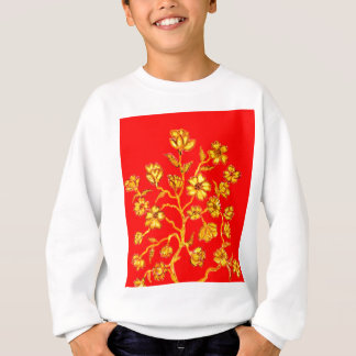 Golden Sakura Art Sweatshirt
