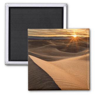 Golden Sand dunes, Death Valley, CA Magnet