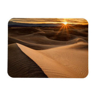 Golden Sand dunes, Death Valley, CA Rectangular Photo Magnet