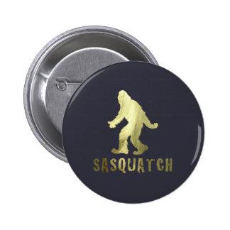 Golden Sasquatch Button