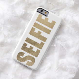 Golden Selfie Barely There iPhone 6 Case
