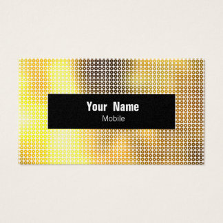 Golden Sequin Business Card