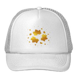 Golden Shimmer Maple Leaf Cap