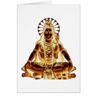 GOLDEN SHIVA CARD