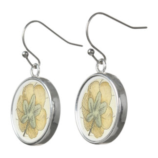 Golden Shower Tree Earrings