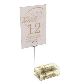 Golden Shower Tree Place Card Holder