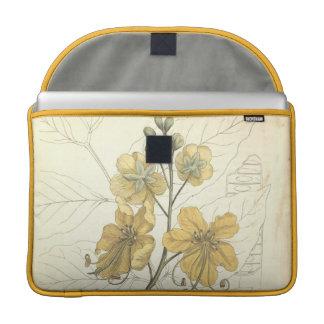 Golden Shower Tree Sleeve For MacBook Pro