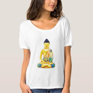 Golden Sitting Buddha T-Shirt