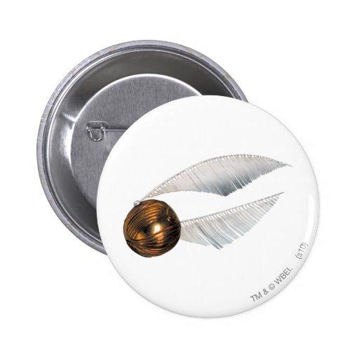 Golden Snitch 6 Cm Round Badge