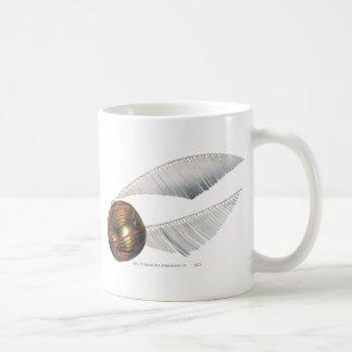 Golden Snitch Classic White Coffee Mug