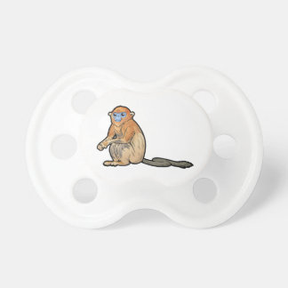 Golden Snub-Nosed Monkey Baby Pacifier
