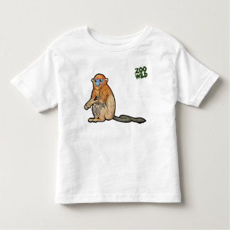 Golden Snub-Nosed Monkey Toddler T-Shirt