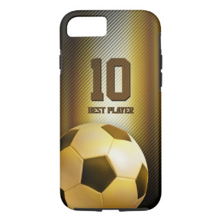 Golden Soccer | Football Best Player No. iPhone 8/7 Case