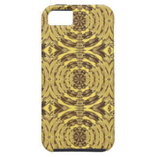 Golden Sparkle JEWEL Print Case For The iPhone 5