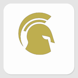 Golden Spartan Rob Donker Personal Training Sticker