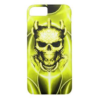 Golden Spectral Skull iPhone 7 Case