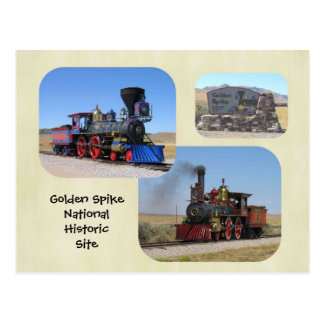Golden Spike National Historic Site Postcard
