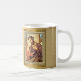 Golden St. Joseph Coffee Mug Feast Day