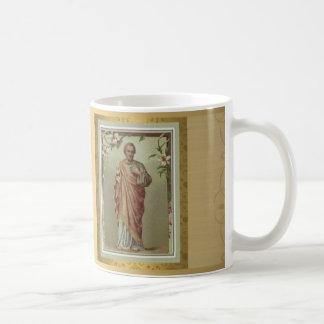 Golden St. Joseph Mug w prayer FEAST