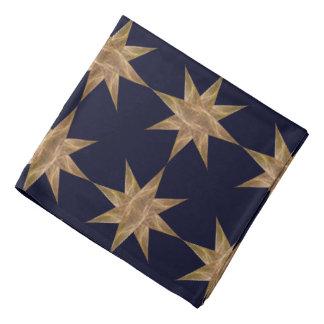 Golden Star Abstract Art Bandanas