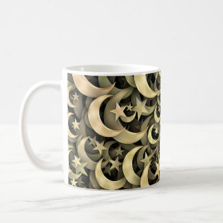Golden Star and Crescent Mugs
