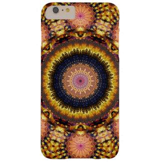 Golden Star Burst Mandala Barely There iPhone 6 Plus Case