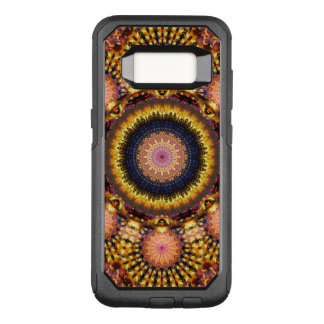 Golden Star Burst Mandala OtterBox Commuter Samsung Galaxy S8 Case