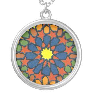 Golden Star Ethnic Design Necklace