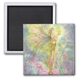 Golden Star Fairy Magnet