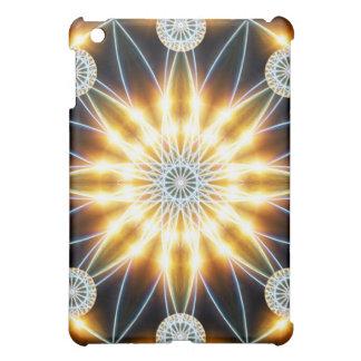 Golden Star Mandala Cover For The iPad Mini