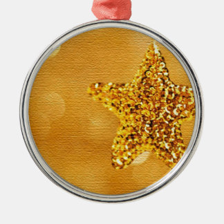 golden-star-PS LARGE.jpg Silver-Colored Round Decoration