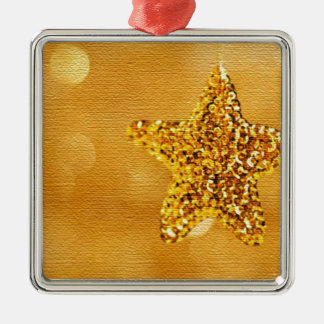 golden-star-PS LARGE.jpg Silver-Colored Square Decoration