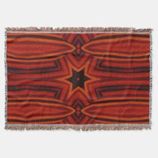 Golden Star Tapestry SDL Throw Blanket