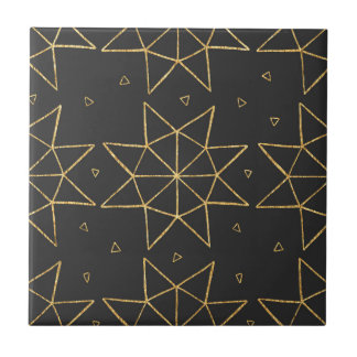 Golden Star Wheels Tile