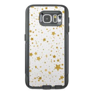 Golden Stars2 -Pure White- OtterBox Samsung Galaxy S6 Case