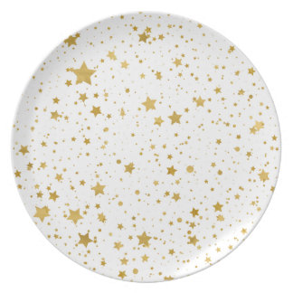 Golden Stars2 -Pure White- Plate