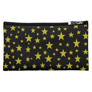 Golden Stars Cosmetic Bag