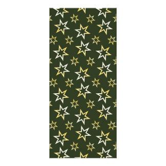 Golden Stars Customized Rack Card