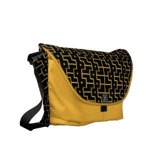 GOLDEN STARS & STRIPES messenger bag