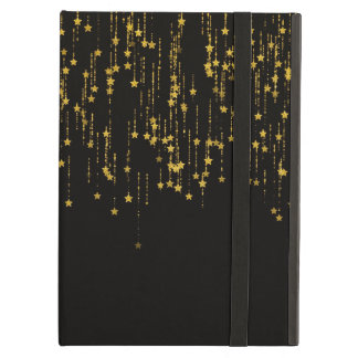 Golden Stars - There is no kickstand to be Case For iPad Air
