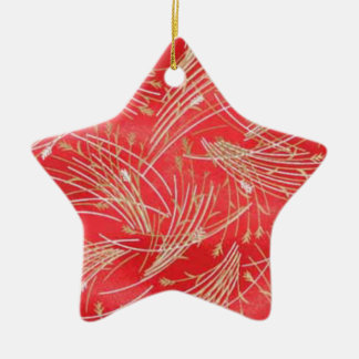 Golden Straw Chinese Red Friendship Ornaments