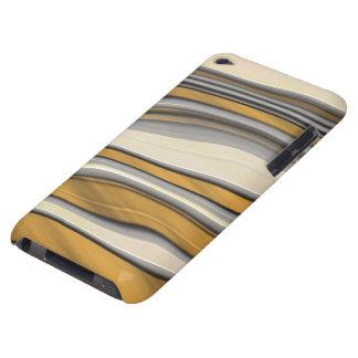 Golden Stripes #1a iPod Case-Mate Case